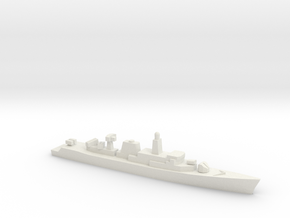 Wielingen-class frigate, 1/2400 in White Natural Versatile Plastic