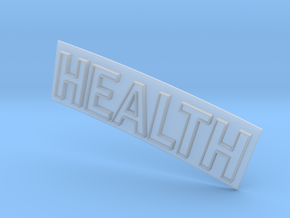 HEALTH in Smooth Fine Detail Plastic