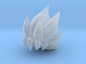 Custom Goku SSjG1 Inspired Lego in Smooth Fine Detail Plastic