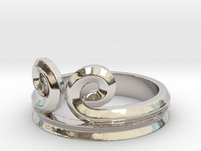 """Sun Wukong """"Monkey King"""" Ring (Multiple Sizes) in Rhodium Plated Brass"""