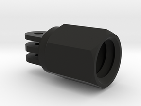 Extension Pole Gopro Mount super selfie pole in Black Natural Versatile Plastic