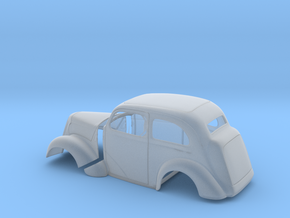 1/12 1949 Anglia Full Body Tilt Front in Smooth Fine Detail Plastic
