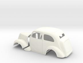 1/24 1949 Anglia Full Body Tilt Front in White Processed Versatile Plastic