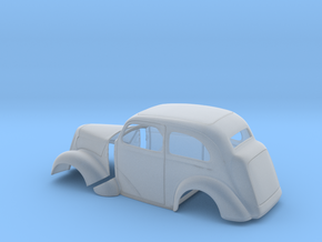 1/43 1949 Anglia Full Body Tilt Front in Smooth Fine Detail Plastic