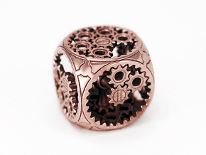 Gears Delirium D6 in Polished Bronze