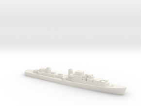 Le Corse-class Frigate, 1/1800 in White Natural Versatile Plastic