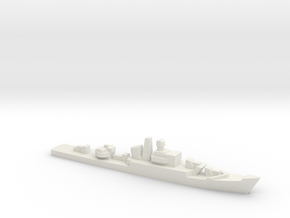 Riga-class frigate, 1/3000 in White Natural Versatile Plastic
