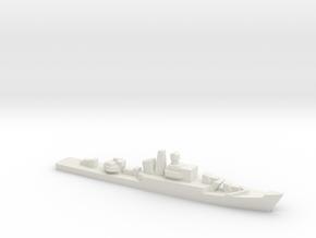 Riga-class frigate, 1/3000 in White Natural Versatile Plastic