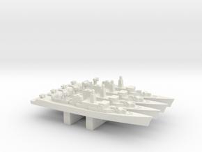 Wielingen-class frigate x 4, 1/3000 in White Natural Versatile Plastic