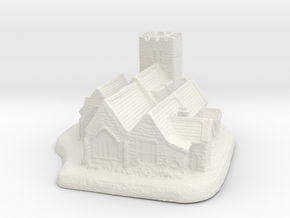 St Bridgets-exported in White Natural Versatile Plastic