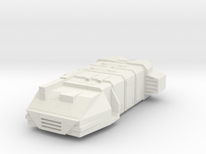 Mini Cargo Ship in White Strong & Flexible
