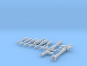 1:24 scale RPG 7 version 2  [see also 1:72 scale] in Smooth Fine Detail Plastic: 1:24