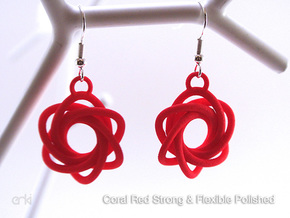 Flourish - Earrings in Blue Strong & Flexible Polished
