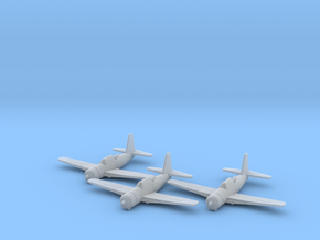Vultee A-35 'Vengeance' 1:200 x3 FUD in Smooth Fine Detail Plastic