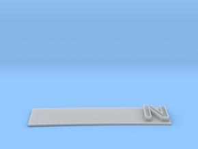 """""""N"""" Modesto Arch Alternate Slogan 1:48 in Smooth Fine Detail Plastic"""