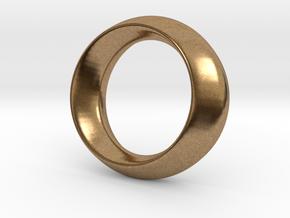 Opus Ring - Bracelet P=180mm in Natural Brass
