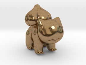 Bulbasaur in Natural Brass