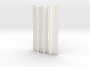 WUS Elevator Roof in White Strong & Flexible Polished