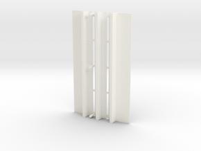 WUS Elevator Roof in White Processed Versatile Plastic