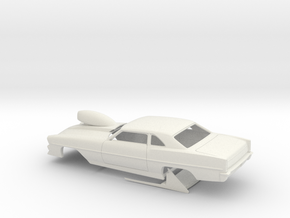 1/8 66 Nova Pro Mod in White Natural Versatile Plastic