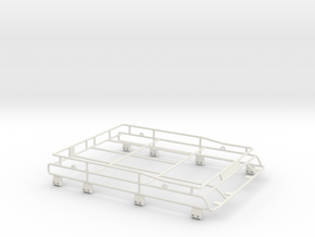Roofrack Adventure D90 Gelande 1:10 in White Natural Versatile Plastic