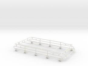 Roofrack Adventure D110 Gelande 1:10 in White Natural Versatile Plastic