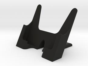 mobile phone desk holder in Black Natural Versatile Plastic