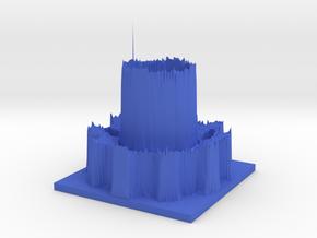Hour of Code : Cog in Blue Processed Versatile Plastic