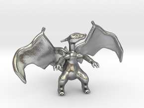 Charizard in Natural Silver