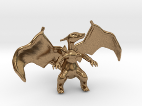 Charizard in Natural Brass