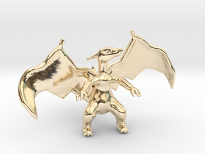 Charizard in 14K Yellow Gold