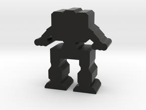 Game Pieces, Heavy Advanced Artillery Mech in Black Strong & Flexible