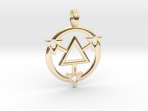 SYSTEM FIRELIGHT in 14K Yellow Gold