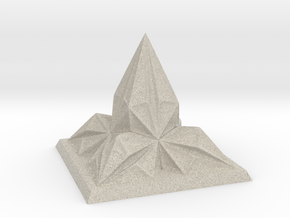 Pyramid Arcology in Natural Sandstone