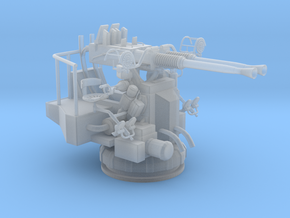 1/48 USN 40mm Bofors Twin Mount in Smooth Fine Detail Plastic