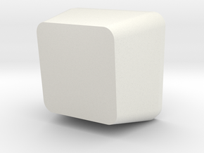 Customisable Topre Keycap in White Strong & Flexible