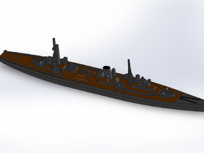 IJN Minelayer Tsugaru 1944 1/1800 in Smooth Fine Detail Plastic