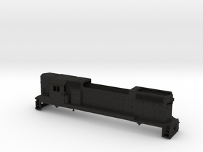 Z Scale High Nose Gp 38 With Cab in Black Acrylic