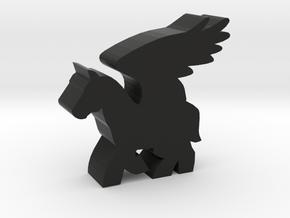 Game Piece, Pegasus in Black Strong & Flexible