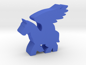 Game Piece, Pegasus in Blue Strong & Flexible Polished