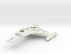 Vor'cha Class HvyCruiser in White Strong & Flexible