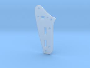Jaguar Rhythm Circuit Plate - Standard in Smooth Fine Detail Plastic