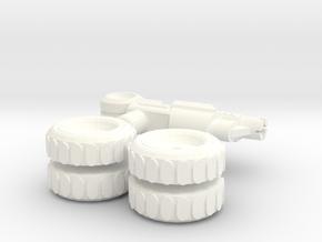 IDW: Gears' Wheels in White Processed Versatile Plastic