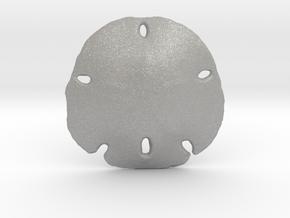 Sand Dollar in Aluminum