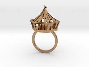 Circus Ring (18mm) in Polished Brass