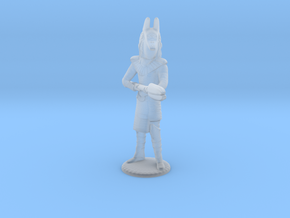 Jackel Guard With Staff - 20 mm in Smooth Fine Detail Plastic