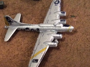 1:700 Scale B-17G Flying Fortresses (4x) in Smooth Fine Detail Plastic