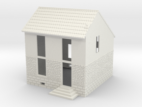 NVPP03 - Suburban house in White Natural Versatile Plastic
