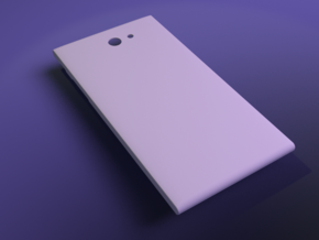 The Other Side for Jolla phone - Thicker in White Processed Versatile Plastic