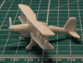 Fieseler Fi 167 1/200 in White Natural Versatile Plastic